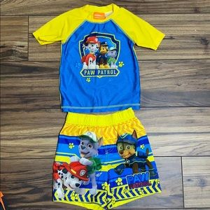🔹4/$20🔹 Swim Trunk Set Paw Patrol